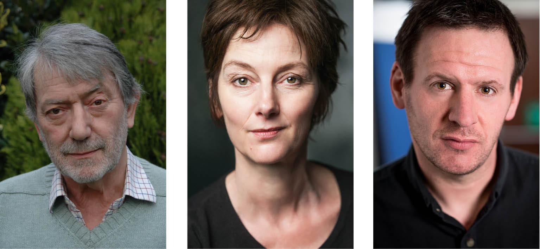 Hugo Myatt, Naomi Capron, Neil James